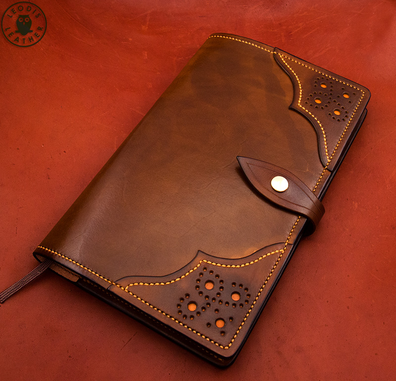 Notebook Cover Pictures : Leather moleskine and midori notebook covers