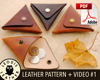 1 Triangular Coin Pouch · buy pattern · preview video  includes ... ab52d0661e741