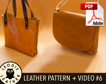ded5135a7428 6 Turned Messenger and Tote Bags. buy pattern ...