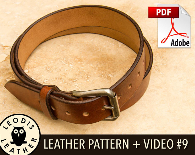 Leodis Leather Videos and Patterns 5601a4a1dbeeb